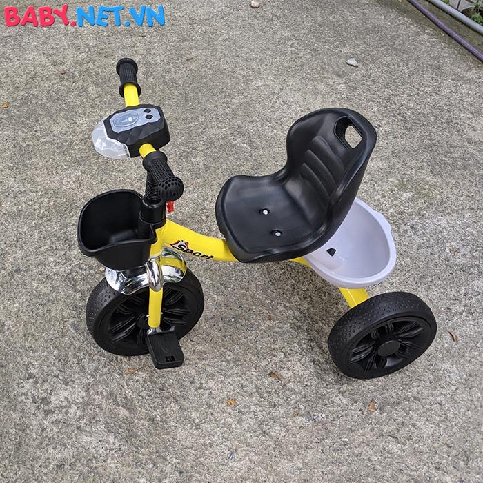 Xe đạp 3 bánh có đèn nhạc Broller XD3-916 7