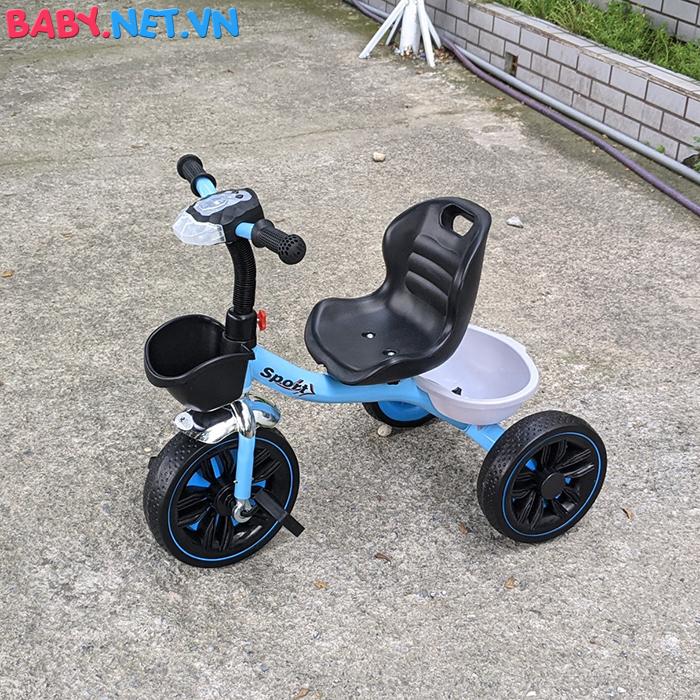 Xe đạp 3 bánh có đèn nhạc Broller XD3-916 9