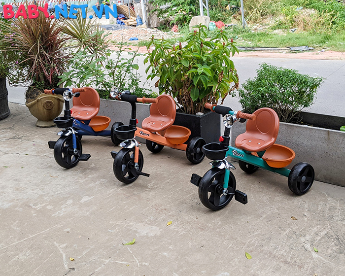 Xe đạp ba bánh trẻ em Broller XD3-902 2