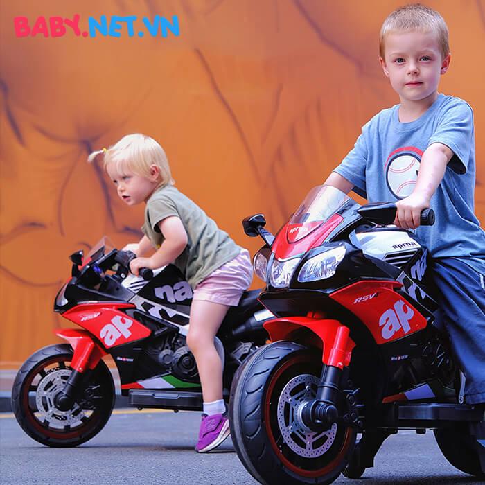 Xe mô tô điện cho trẻ em N666 10
