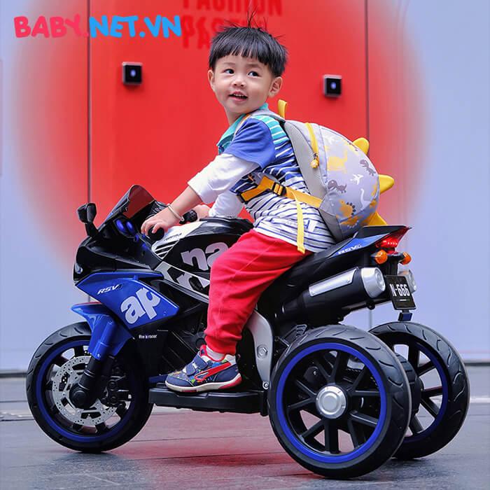Xe mô tô điện cho trẻ em N666 7