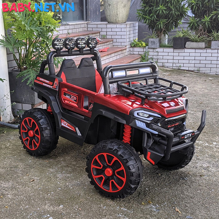 Xe ô tô trẻ em địa hình 4 động cơ UTV DLX-6188 14