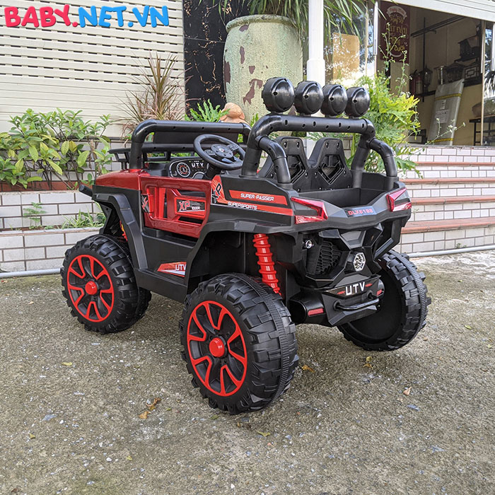 Xe ô tô trẻ em địa hình 4 động cơ UTV DLX-6188 16