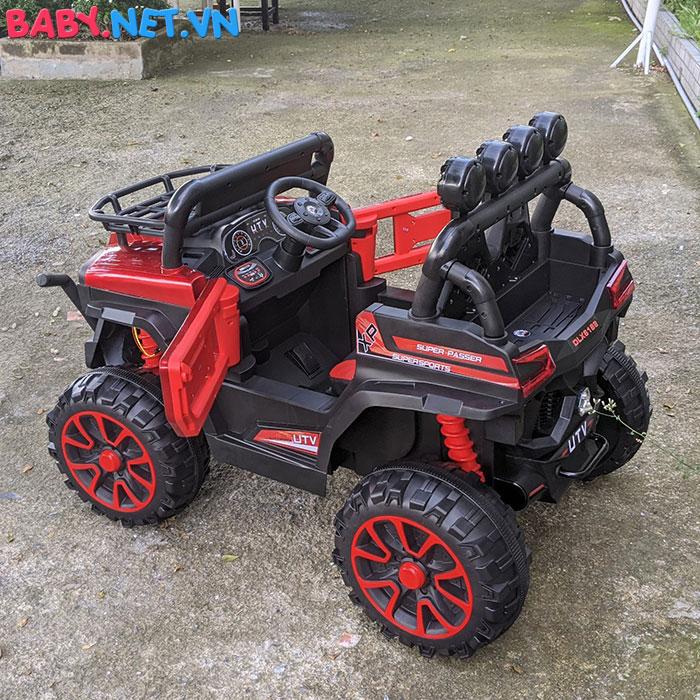 Xe ô tô trẻ em địa hình 4 động cơ UTV DLX-6188 17