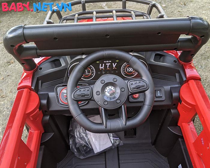 Xe ô tô trẻ em địa hình 4 động cơ UTV DLX-6188 23