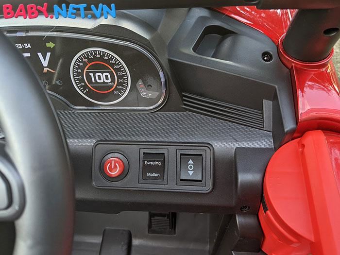 Xe ô tô trẻ em địa hình 4 động cơ UTV DLX-6188 25
