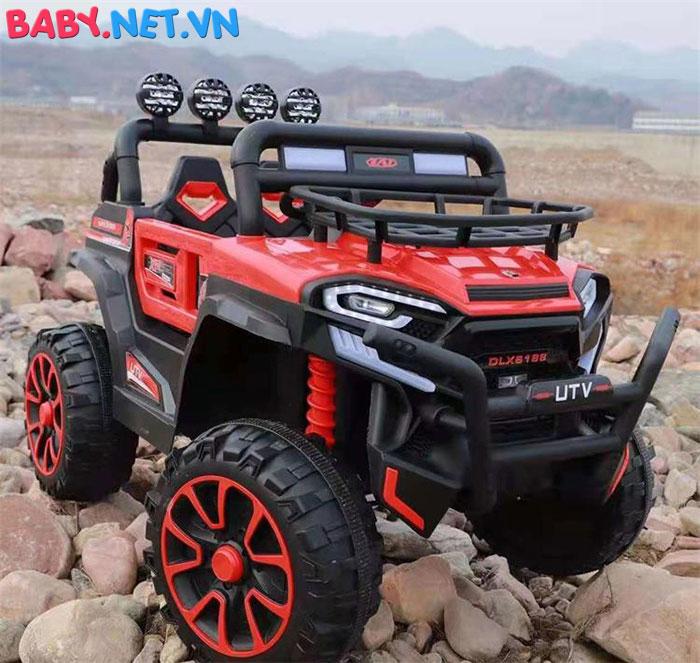Xe ô tô trẻ em địa hình 4 động cơ UTV DLX-6188 5