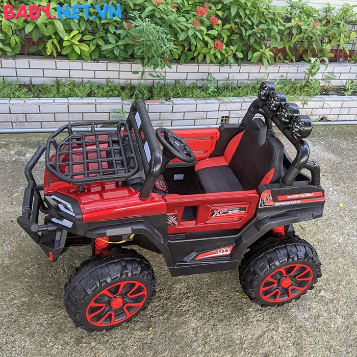 Xe ô tô trẻ em địa hình 4 động cơ UTV DLX-6188 9