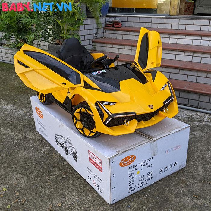 Xe oto điện Lamborghini TA-666 6